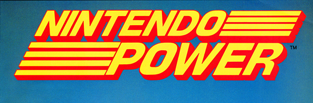 Masthead for Nintendo Power, a video game magazine published by Nintendo 1988
