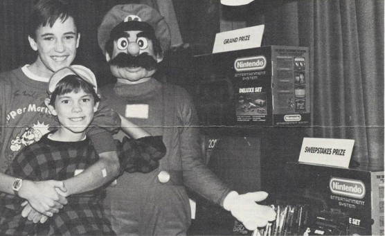 Image of Wil Wheaton and Mario