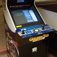 An Arcade Legends cabinet at the Computer +Video Games Archive, 2013