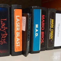Cartridges for the Atari VCS/2600 at the Computer + Video Game Archive 2013