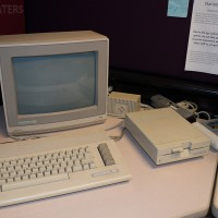 Commodore 64 and peripherals at the Computer + Video Game Archive