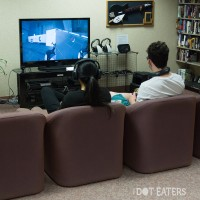 Playing games at the Computer + Video Game Archive 2013