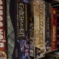 Board games at the Computer + Video Game Archive 2013