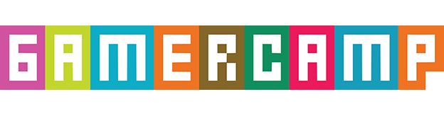 Logo for Gamercamp, an indie video games festival in Toronto 2013