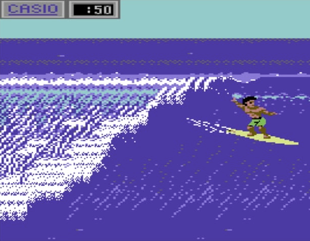 Excerpt from California Games, a computer game by Epyx 1987