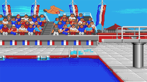 The Games: Summer Edition, a computer game for the Amiga by Epyx 1988