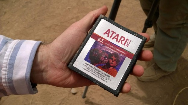 E.T. The Extra Terrestrial video game cartridge, unearthed after Atari burial over 30 years ago