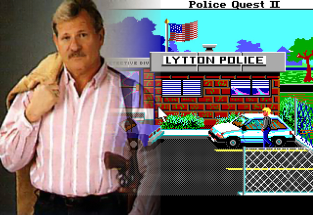 Jim Walls, designer of Police Quest, a graphic adventure game by Sierra