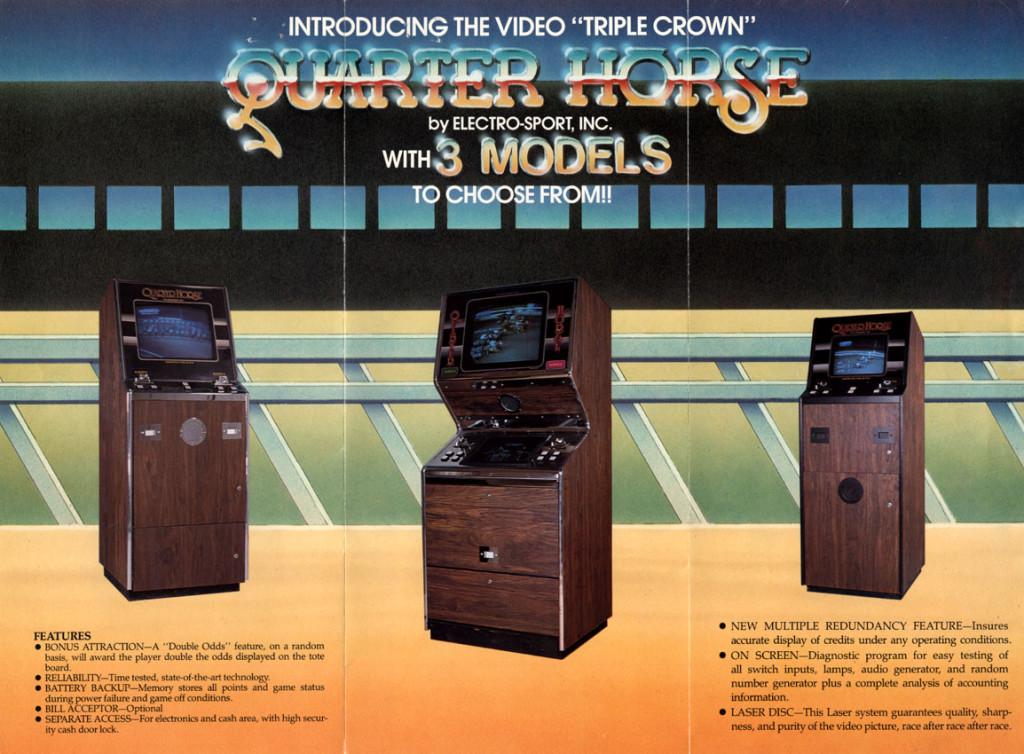 Laserdisc game Quarter Horse