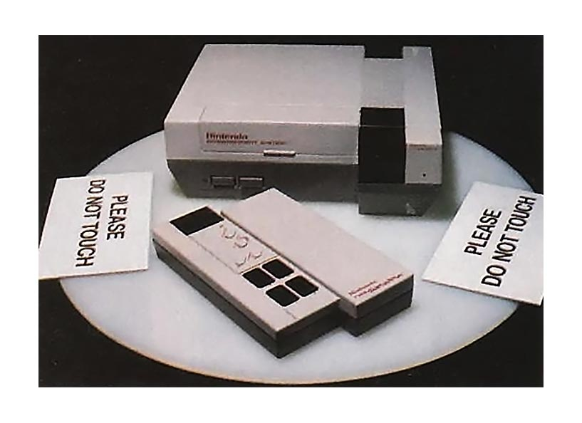 The NES satellite, for use with Nintendo's home video game console