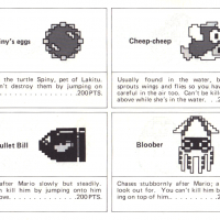 List of enemies from SMB, a video game for the NES by Nintendo