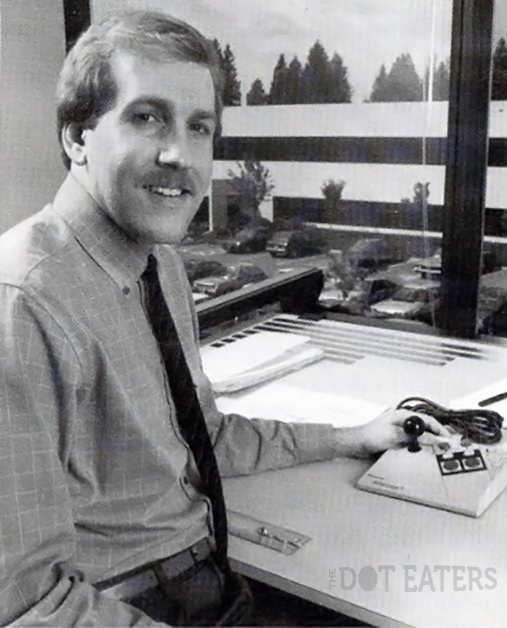 Lance Barr, video game console designer at Nintendo of America