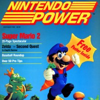 First issue of Nintendo Power, a magazine supporting the NES, a home video game console by Nintendo