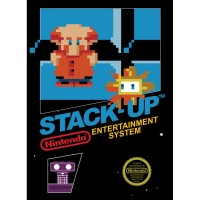 Stack-Up, a home video game for Nintendo's NES