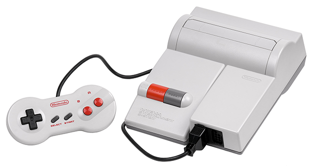 Top loader version of the NES, a home video game console by Nintendo