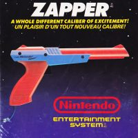The Zapper light gun, for the Nintendo NES