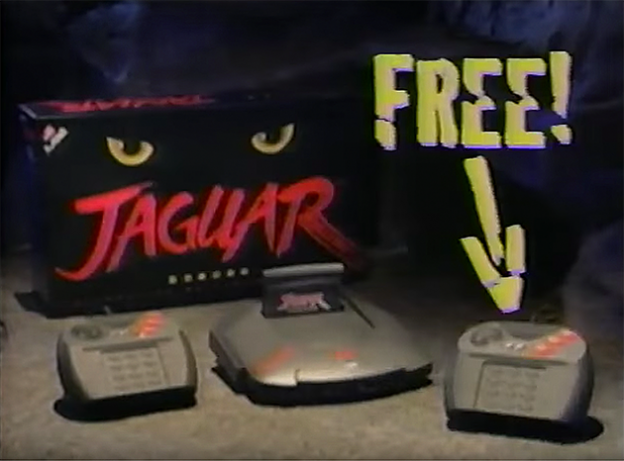 Ad for the Jaguar, a video game system by Atari