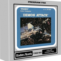 Demon Attack, a video game for the TRS-80 Color Computer
