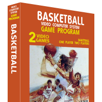 Basketball, a video game by Alan Miller at Atari for the VCS video game console