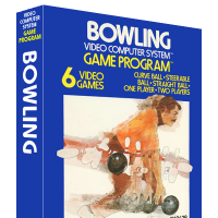 Bowling, a video game created by Larry Kaplan at Atari for the VCS video game console