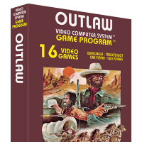 Outlaw, a video game made by David Crane at Atari for the VCS video game console