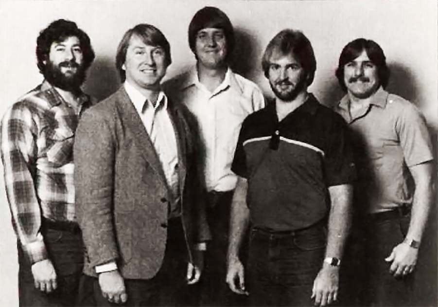 Larry Kaplan, Alan Miller, David Crane, Steve Cartwright and Bob Whitehead, programmers a video game company Activision