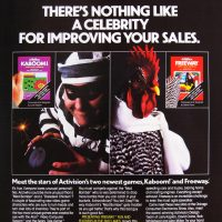 Ad for Kaboom! and Freeway, video games by Activision