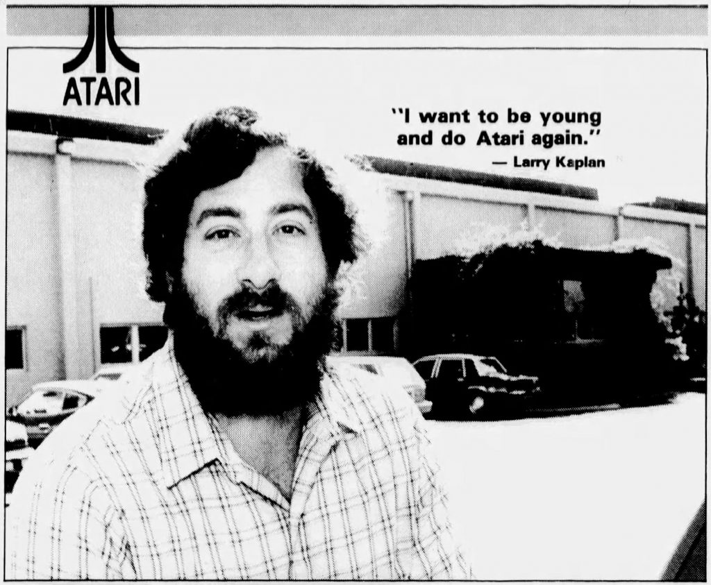 Larry Kaplan, co-founder of video game company Activision