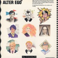 Alter Ego, a computer video game for the Commodore 64 home computer