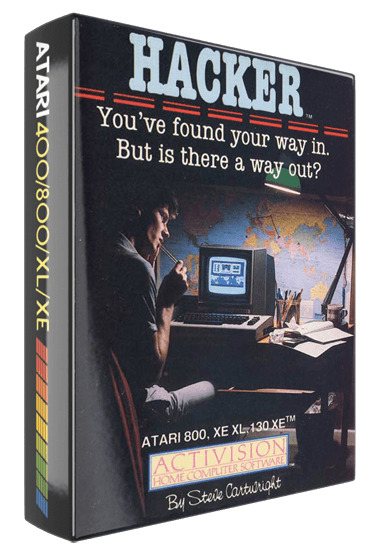 Hacker, a computer video game for Atari 8-bit home computers