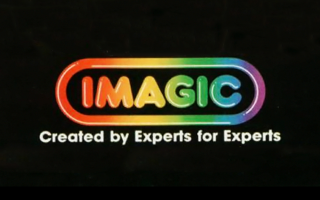 Logo for Imagic, a video game company