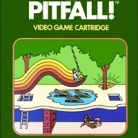 Pitfall!, a video game for the Atari 2600 video game console