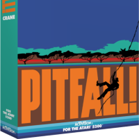 Pitfall!, a video game for the Atari 5200 video game console