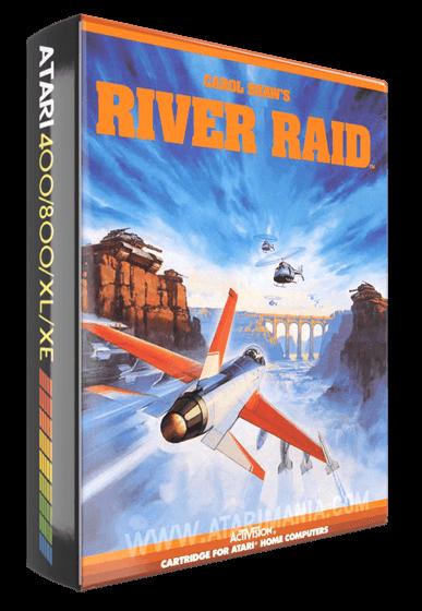 River Raid, a computer video game for the Atari 8-bit home computers