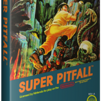 Super Pitfall, a video game for the NES video game console