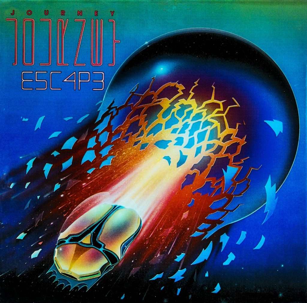 Cover of Escape, a rock album by Journey