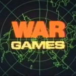 title screen for movie trailer for WarGames, a computer game themed movie starring Matthew Broderick