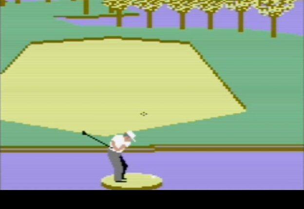 Leader Board golf computer game by Access